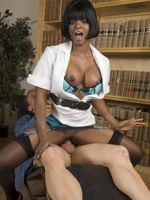 Nurse Jasmine Webb gets fucked on the job