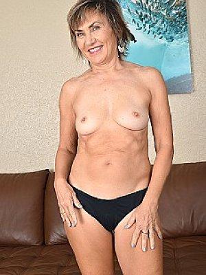 Hot Cougar Posing