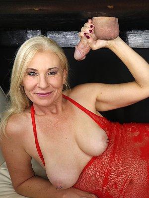 Blonde Wife milks your cock