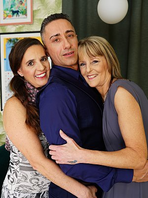 Mature Threesome with Lover