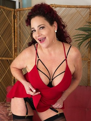 Hot Wife in Red