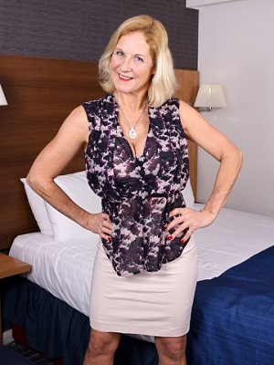 Sexy Blonde Mature Wife
