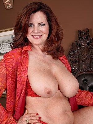 Redhead with Big Boobs
