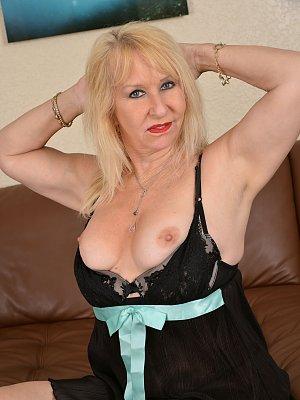 Sexy Blonde Wife Posing