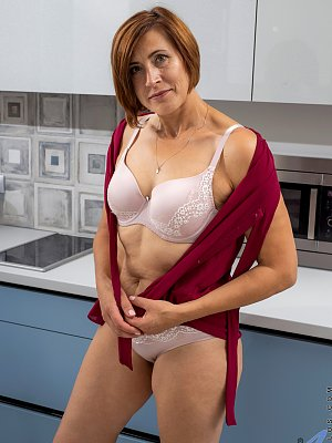 Mature Housewife Posing