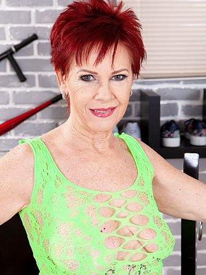 Redhead Caroline Hamsel